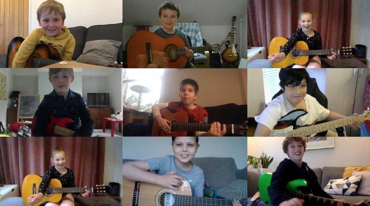 kids guitar lessons